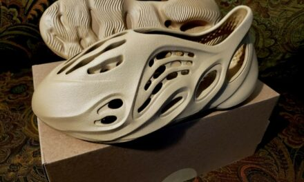 Adidas Yeezy Foam RNNR Runner 'Ochre' (GW3354) US Men's Size 8 | FREE SHIPPING