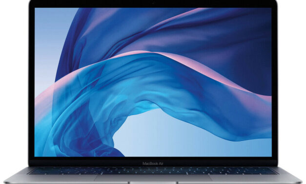 2020 Apple MacBook Air 13″ Gray   1.1GHz i5 8GB 256 GB SSD Certified Refurbished