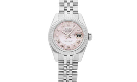 Rolex Datejust Auto 26mm Steel Gold MOP Ladies Jubilee Bracelet Watch 179174