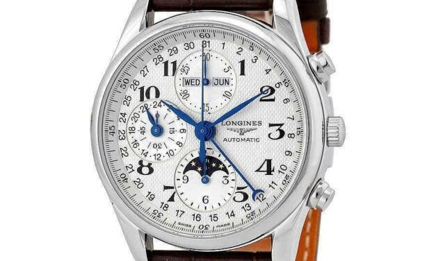 Longines L2.673.4.78.3 Master Collection Brown Leather Watch