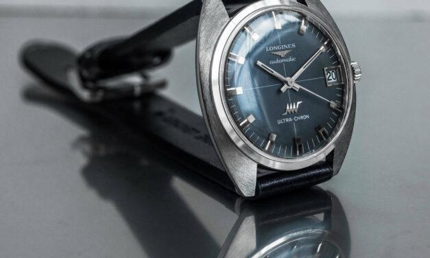 Longines Ultrachron Automatic 8317 5 Date Vintage Men's Watch 1971 wl38299