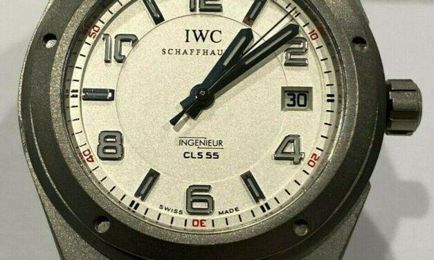 IWC IW322707 CL555 Men's Titanium Watch