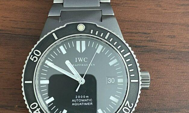 IWC Aquatimer 2000 Titanium (3656-01)