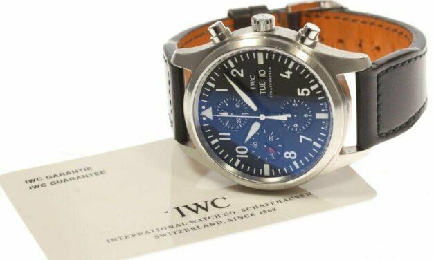 IWC Pilot Watch Chronograph IW371701 Men's #C148