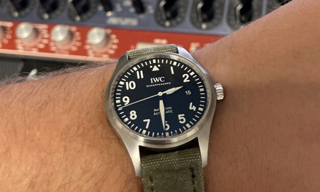 IWC Pilot's Watch Mark XVIII with Box, Papers, & 2 Bands.