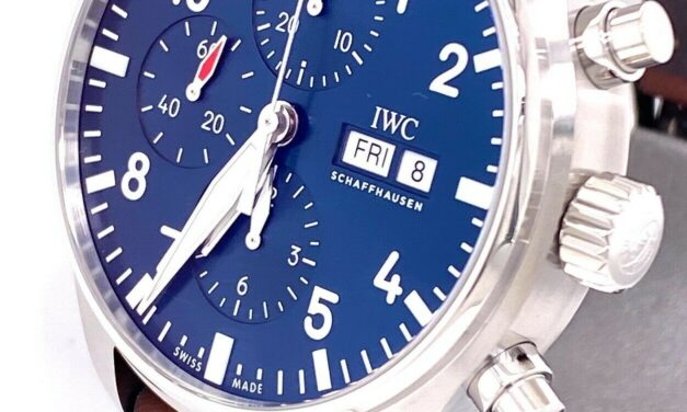 """IWC PILOT'S WATCH CHRONOGRAPH EDITION """"LE PETIT PRINCE""""  IW377714 – BRAND NEW !"""