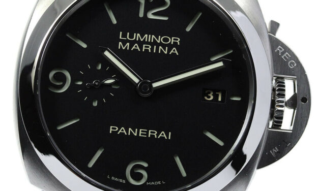 PANERAI Luminor 1950 3 Days PAM00312 black Dial Automatic Men's Watch_638006