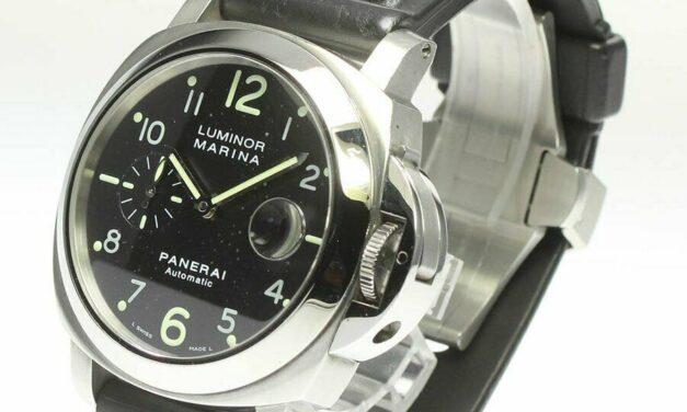 Belt Flaws Panerai Luminor Marina Date PAM00104 #C153