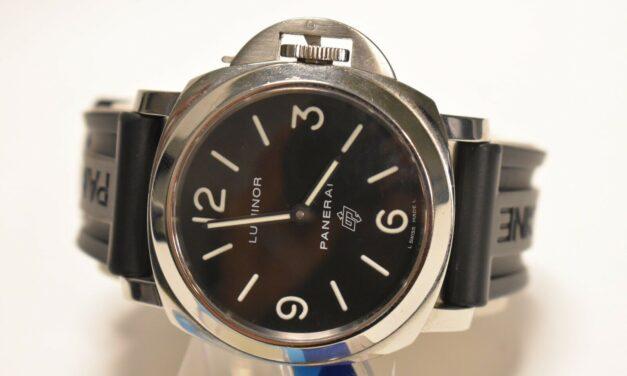 Panerai Luminor Men's Black Watch 000 Base Logo