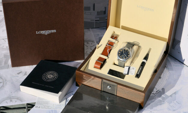 Longines Heritage Military 1938 Limited Edition L2.826.4.53.2 2019 n.1508 New