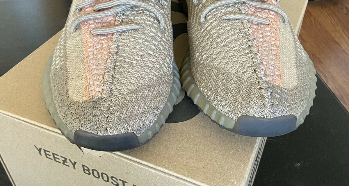 Yeezy 350V2 Sand Taupe Size 12