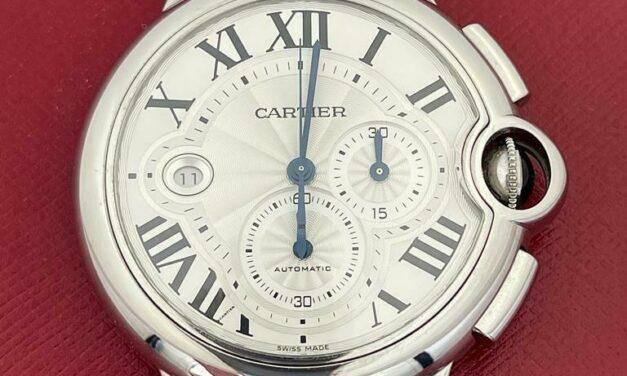 Cartier Ballon Bleu XL Chronograph 3567